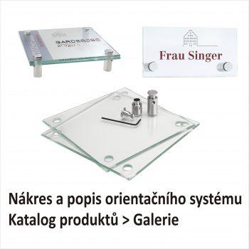 Orientační systém Galerie