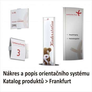 Orientační systém Frankfurt
